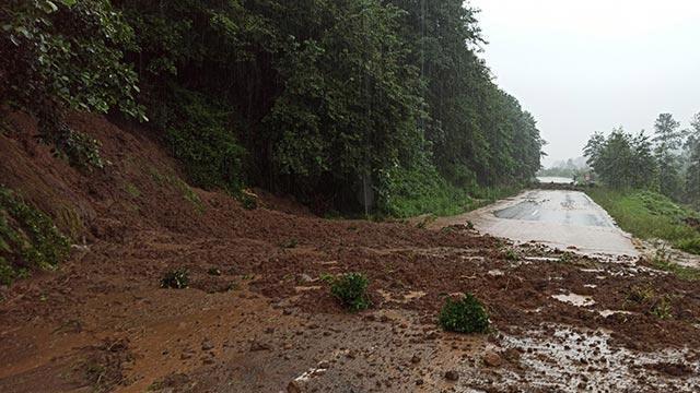 Trabzon'da heyelan nedeniyle bir kişi hayatını kaybetti