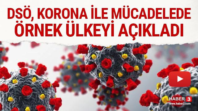 DSÖ, koronavirüsle mücadelede örnek ülkeyi açıkladı