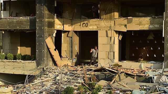 Beyrut'taki patlamada 2 Türk vatandaşı yaralandı