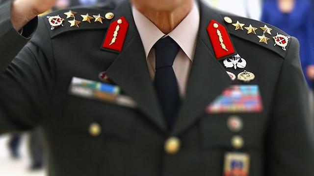 127 general ve amiralin görev yerleri değişti