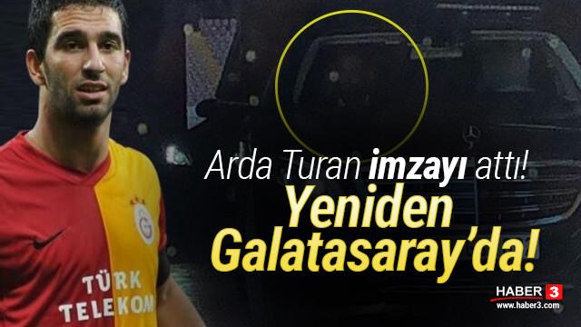 Arda Turan yeniden Galatasaray'da!