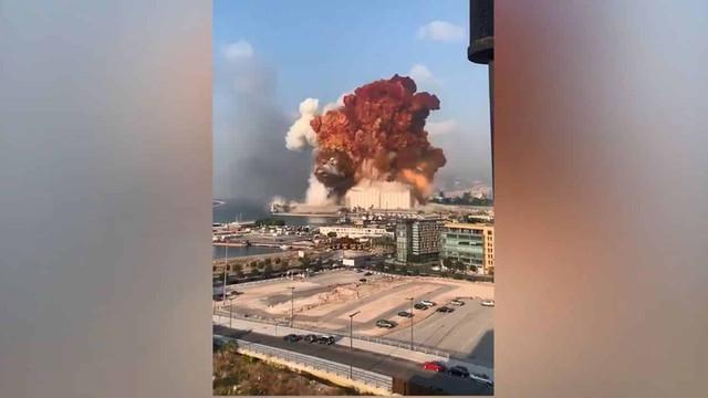 Beyrut'u yıkan patlayıcıların kime ait olduğu ortaya çıktı