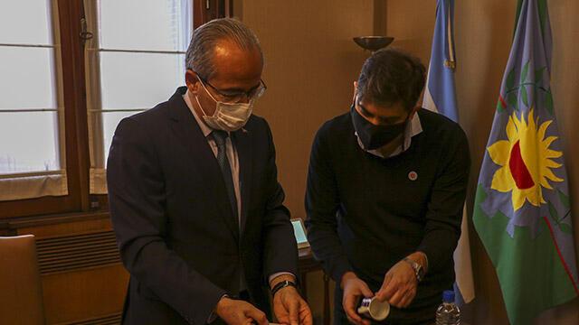 Türkiye'den Arjantin'e korona desteği!