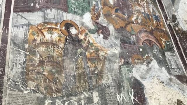 Sümela Manastırı'nda rezalet görüntüler