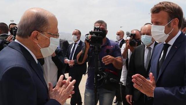 Fransa Cumhurbaşkanı Macron'dan, Lübnan'a ziyaret