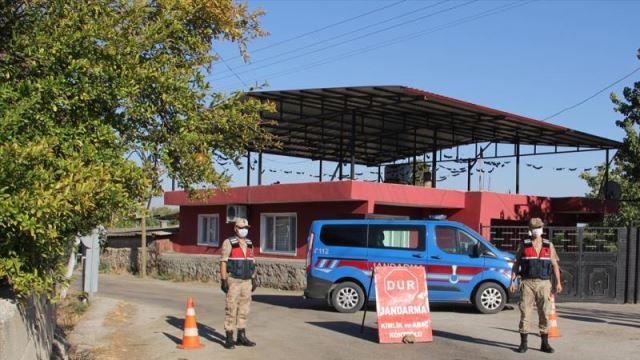 Hatay'da 1 mahalle koronavirüs tedbirleri kapsamında karantinaya alındı