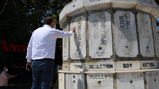 Kartal'daki Atatürk ve Türk Devletleri Anıtı restore edilecek