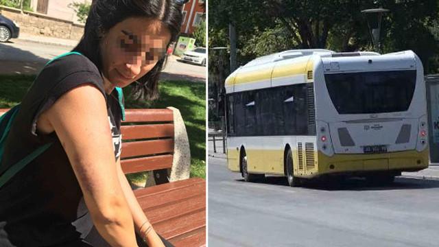 İki genç kız kardeşi belediye otobüsünde kabusu yaşadı!