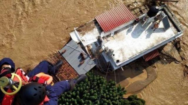 Yunanistan'da sel felaketi: Bazı kentlere ulaşılamıyor!