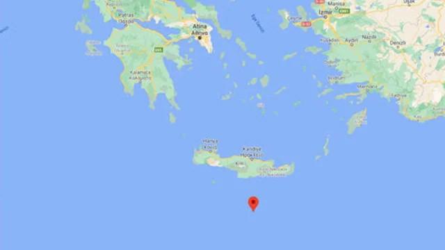 Akdeniz'de depremin ardından artçı meydana geldi