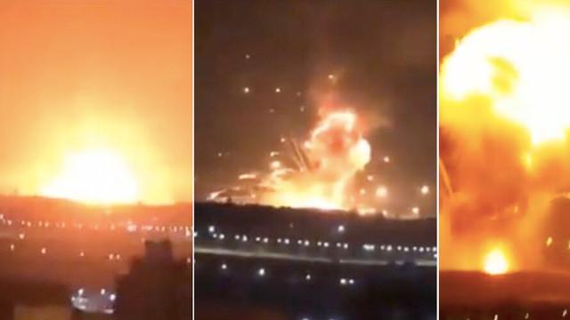 Ürdün'de askeri üste patlama