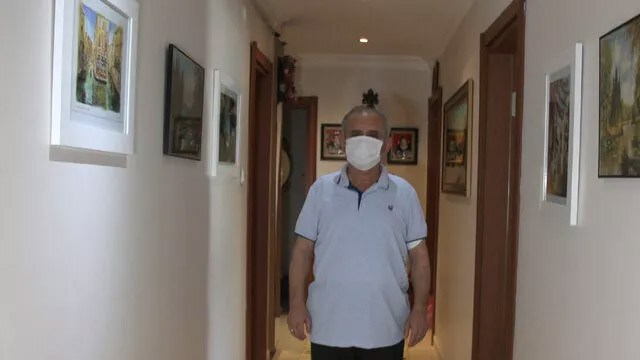 Koronavirüsü atlatan adam: İnsan ensesinde Azrail olduğunu hissediyor