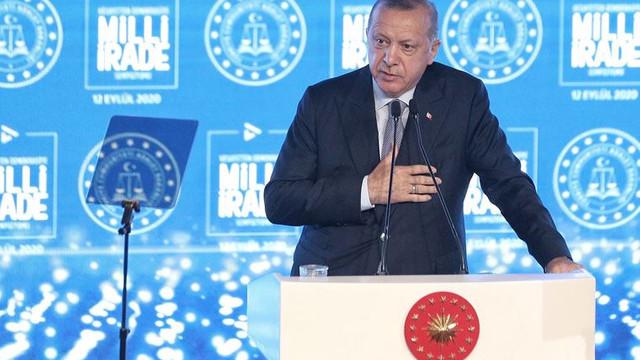 Erdoğan: ''Macron gidici''