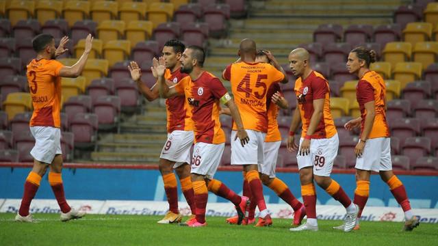 Galatasaray yeni sezona galibiyetle başladı! Galatasaray 3-1 Gaziantep