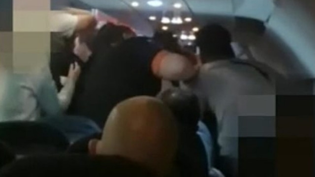 İngiltere-Türkiye uçağında ''ırkçılık'' kavgası!