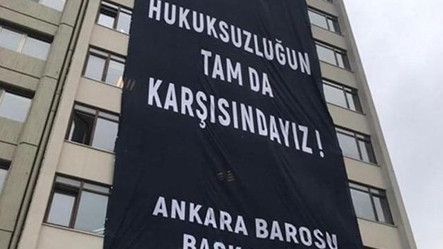 Ankara Barosu'ndan 'operasyon' açıklaması