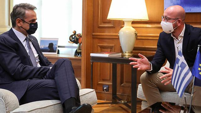 Yunanistan Başbakanı Miçotakis: ''Türkiye ile görüşmeye hazırız''