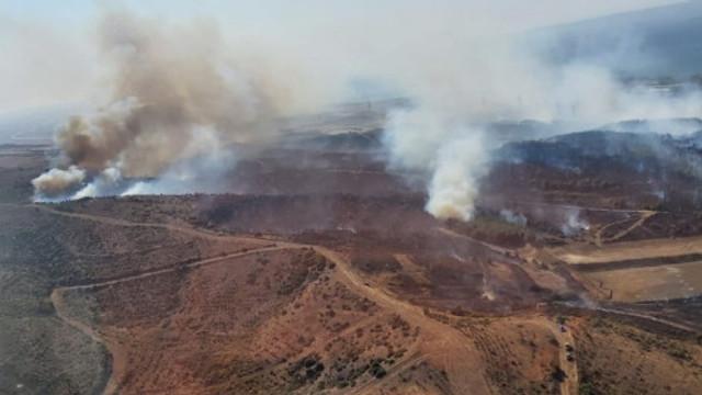 Gelibolu'da bir orman yangını daha