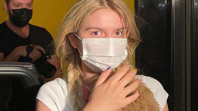 Aleyna Tilki'yi şoförü kurtardı