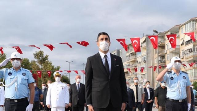 Kartal Belediye Başkanı Gökhan Yüksel şehit ve gazileri unutmadı