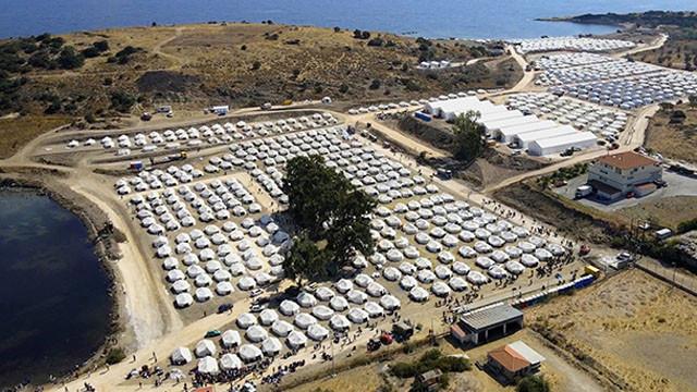 Yunanistan'daki mülteci kampında 243 kişide korona tespit edildi