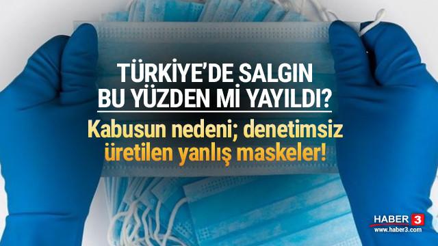 Koronavirüs salgınını Türkiye'de yanlış maske mi hortlattı?