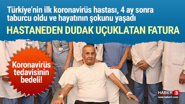 Türkiye'deki ilk koronavirüs hastasına hastaneden dudak uçuklatan fatura!