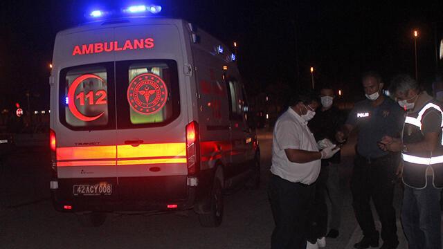 Konya'da silahlı kavga: Çok sayıda yaralı var