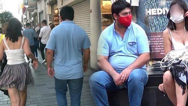 Taksim'de genç kadını taciz etmişti! Olayla ilgili yeni gelişme