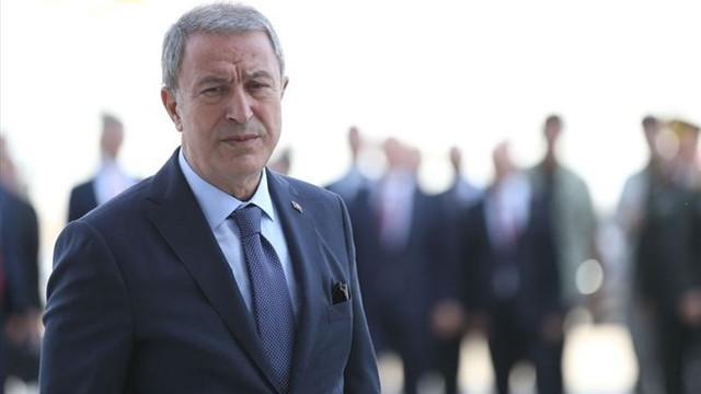 Bakan Akar'dan yeni Doğu Akdeniz mesajı