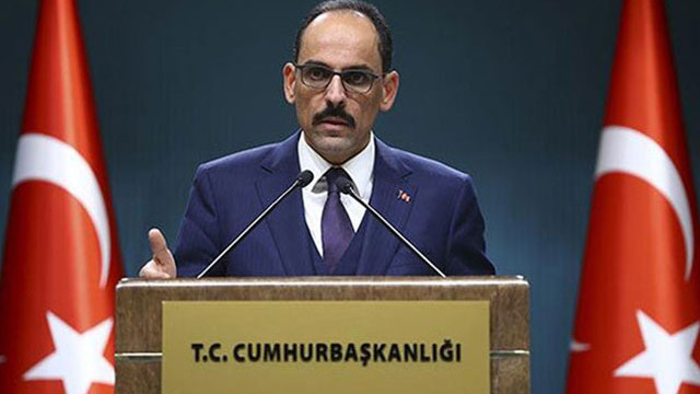 İbrahim Kalın: Türkiye, Azerbaycan'ın yanındadır