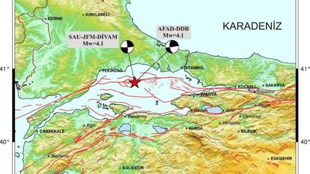 ''Marmara Denizi'ndeki deprem Silivri depreminin artçısı olabilir''
