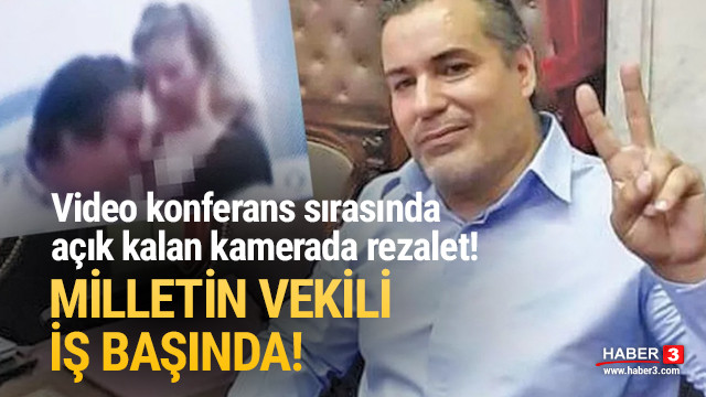 Milletvekilinin cinsel tacizi kamerada!