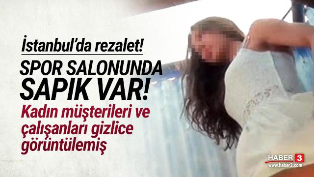 Spor salonunda kadınları gizlice görüntüleyen sapık tutuklandı