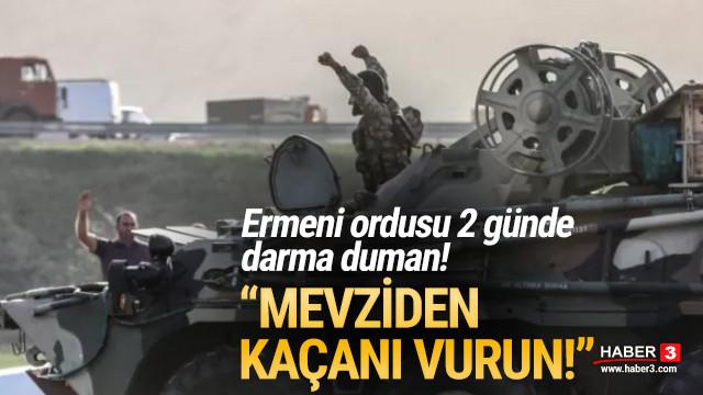 Ermenistan askerlerine emir verildi: Mevziden kaçanı vurun