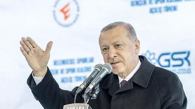 Cumhurbaşkanı Erdoğan 1,5 yıldır faaliyette olan tesisi açtı