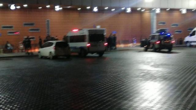 Otobüs terminalinde bıçaklı kavga!