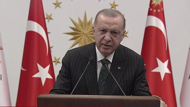 Erdoğan Telegram'dan ilk mesajını paylaştı