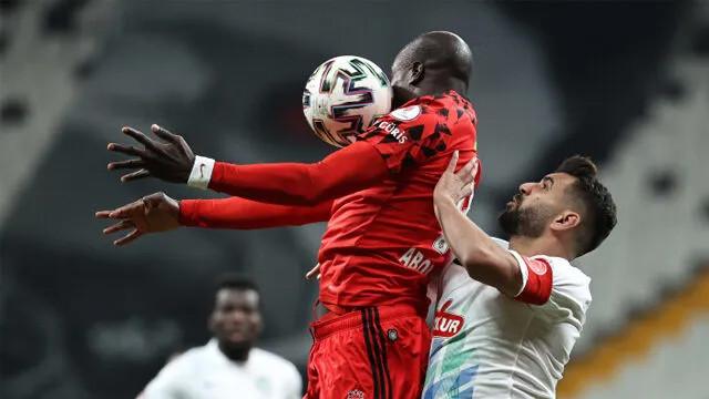 Beşiktaş Türkiye Kupası'nda adını çeyrek finale yazdırdı