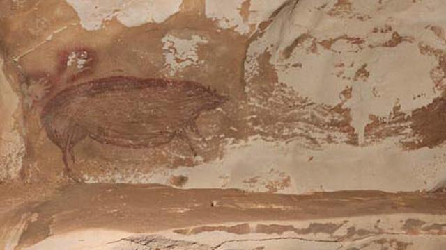 Dünyanın en eski mağara çizimi keşfedildi