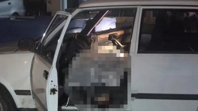 Otomobilin içinde çifte infaz!