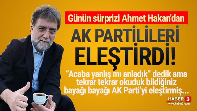 Ahmet Hakan AK Parti'ye dikkat çeken aşı tepkisi
