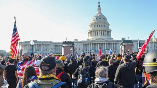 ABD'de kongre binası kapatıldı