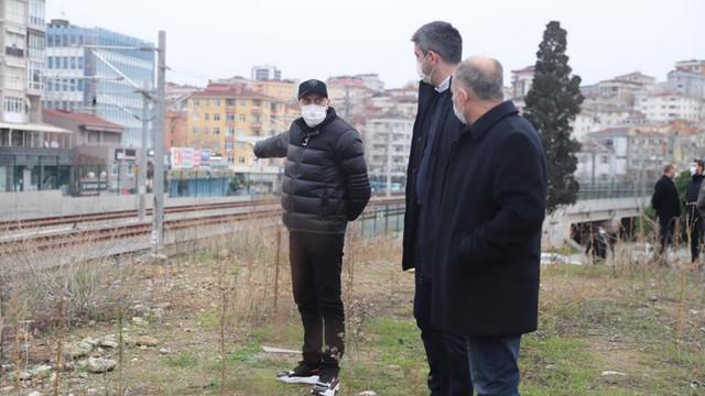 Başkan Gökhan Yüksel'den proje alanlarına çıkarma