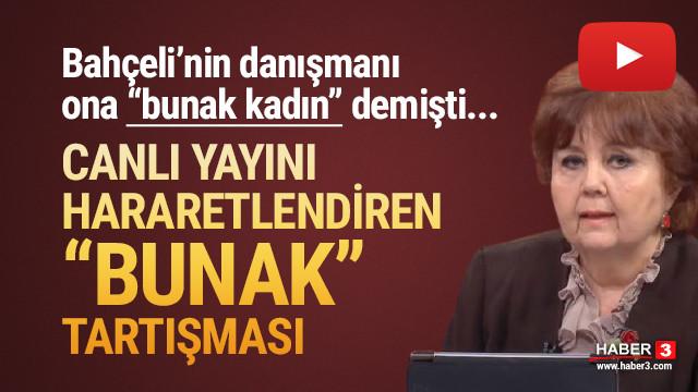 Halk TV canlı yayınında ''bunak'' tartışması