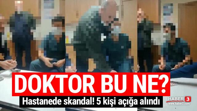 Hastanede kumar skandalı: 5 personel açığa alındı