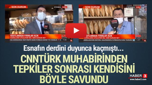 CNN Türk muhabiri tepki çeken röportaj için özür diledi