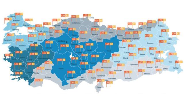 İşte Türkiye'nin fiber internet haritası