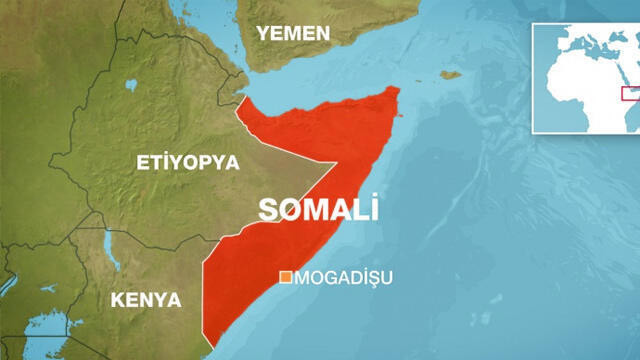 Somali'nin başkentinde korkunç patlama!