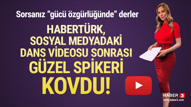 Dans videosu olay olmuştu! Habertürk Hande Sarıoğlu'nu kovdu
